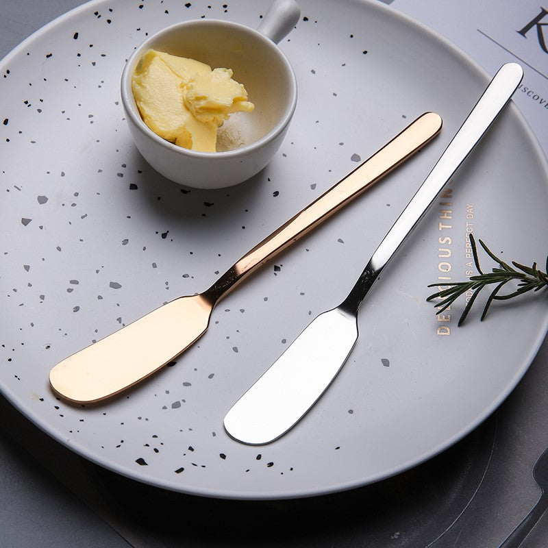 PRISMA Stainless Steel Butter Knife & Fork - LEMI Décor