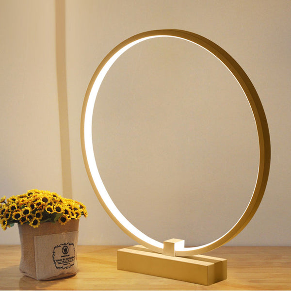 The Circle™ Minimalism Table Lamp - LEMI Décor