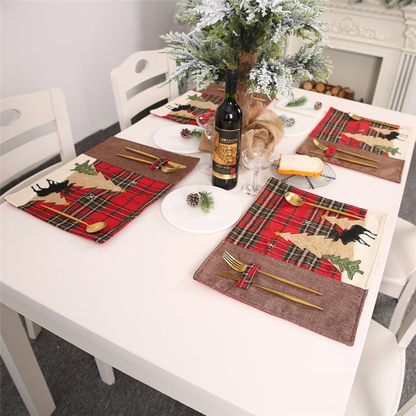 XMas Table Mat Decoration - LEMI Décor