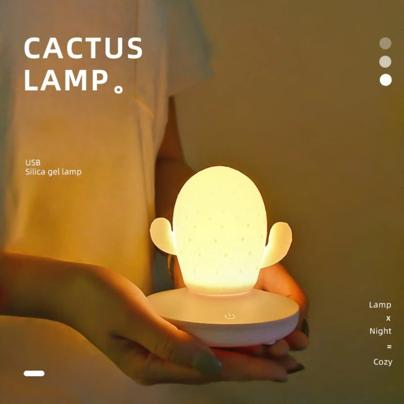 Cactus LED Touch Control Night Light