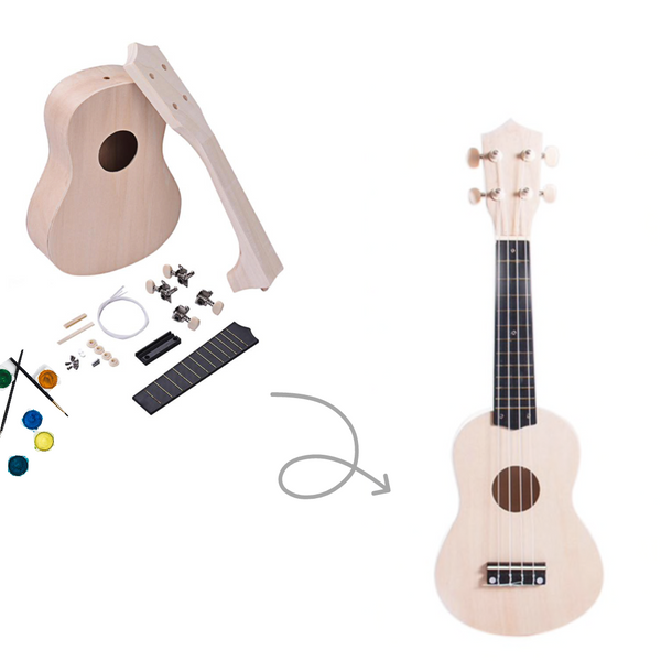 Happie 2021 DIY Ukulele Kit *LIMITED OFFER*