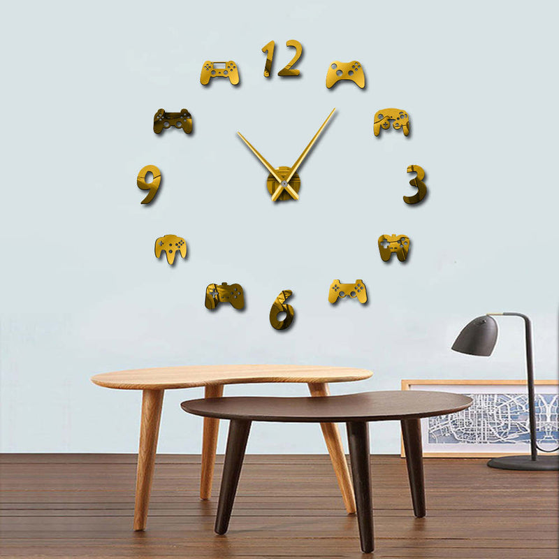Game Controllers DIY Wall Clock