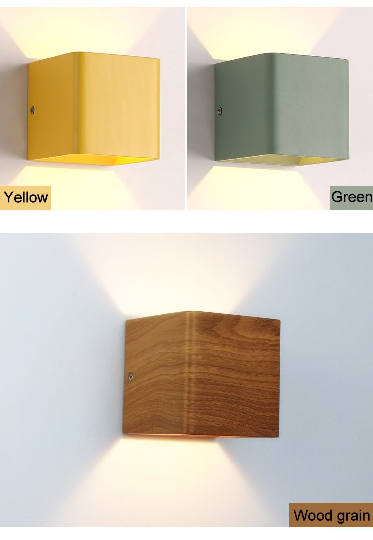 Glowy Cube Led Wall-mounted Lamp - LEMI Décor