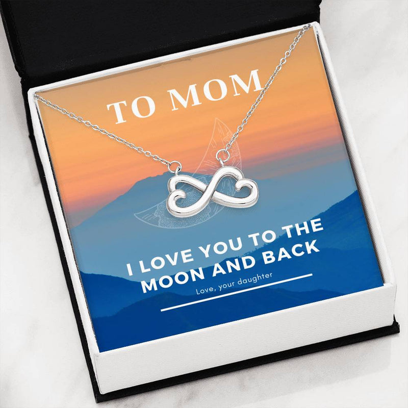 To the Moon and Back - Necklace