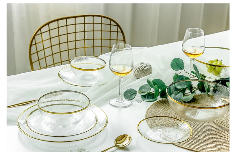 Touch of Gold Dining Collection - LEMI Décor