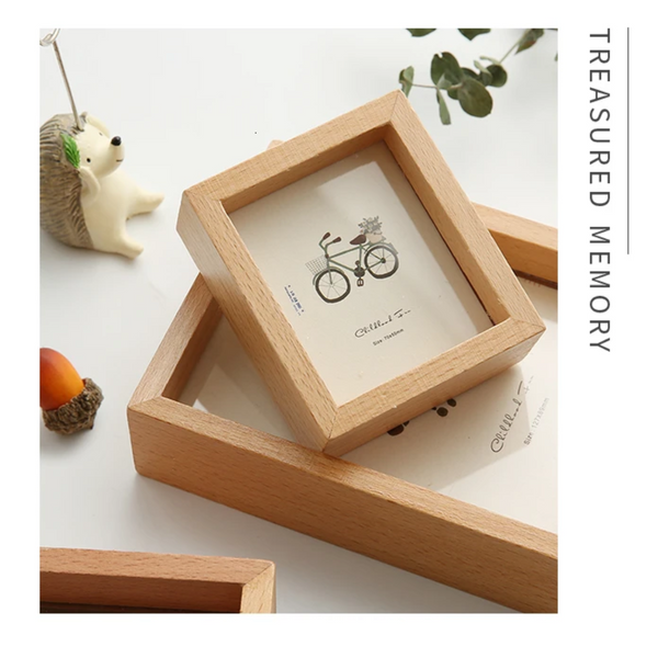 Clover - Simple Solid Wood Photoframe