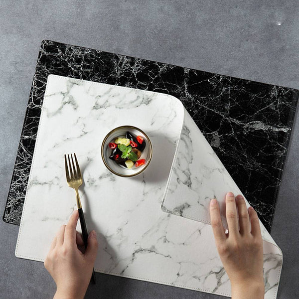 Luxury Marble Pattern Table Mat