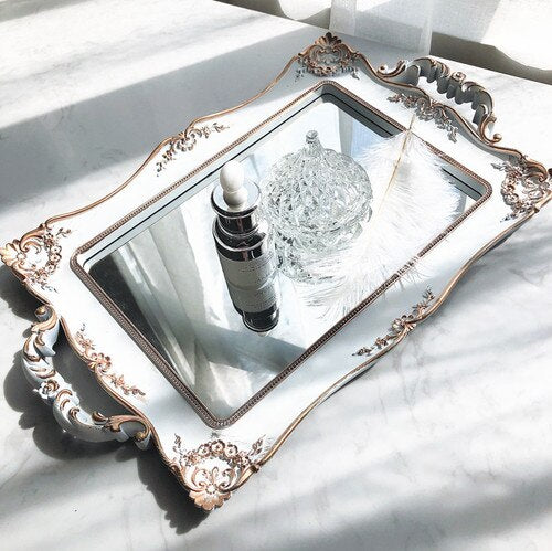 Retro Scandinavian Mirror Tray