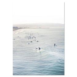 Hawaii Summer Surfing Wall Posters
