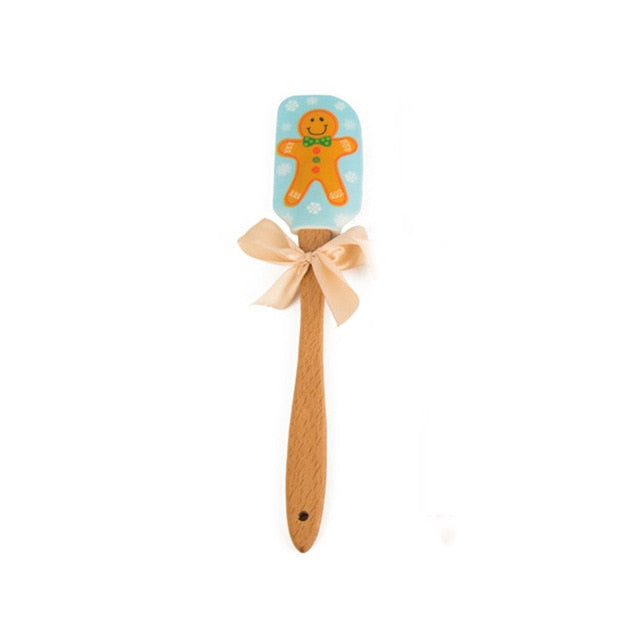 Christmas Baking Cream Spatula