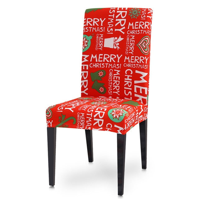 Christmas Chair Cover Decoration - LEMI Décor