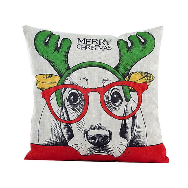 Little Elk Christmas Pillow Case
