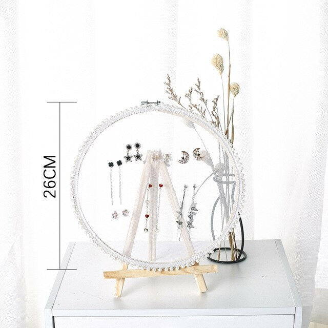 Pearl Princess Earring Display Rack