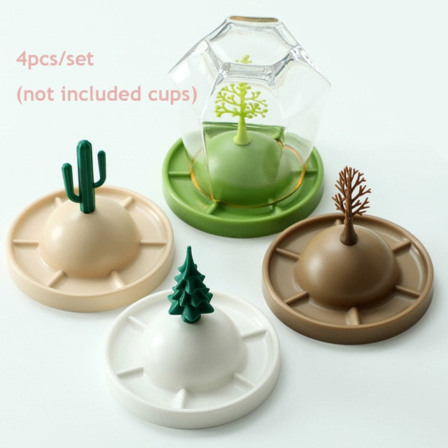 Four Seasons Cup Racks Set ( 4PCS)