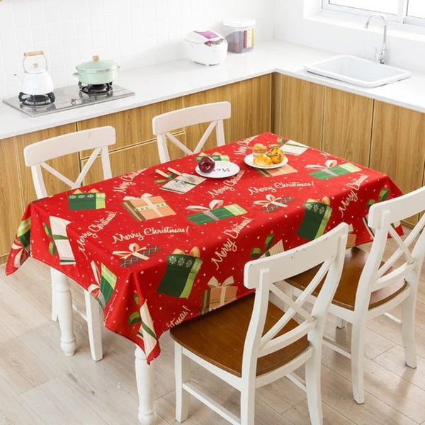 Cute Christmas Tablecloth - LEMI Décor