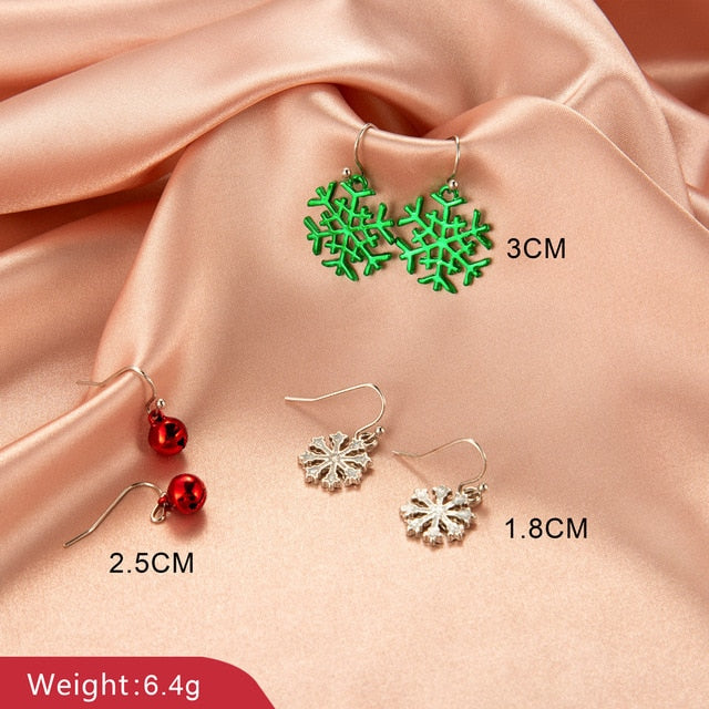 My Gorgeous Christmas Drop Earrings