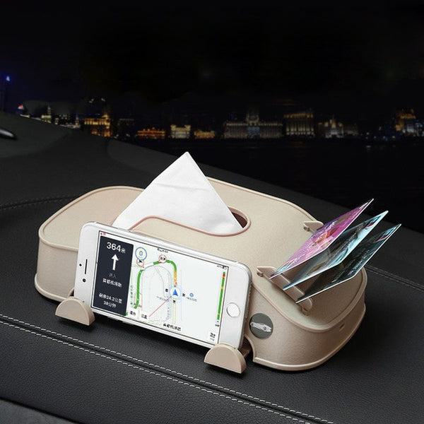 Luxury Car Multi-use Tissue Box