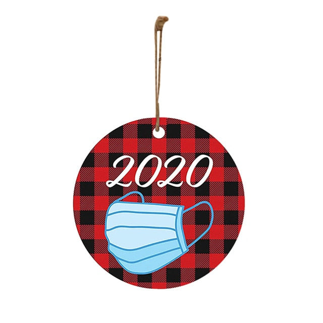 2020 Christmas Quarantine Ornaments