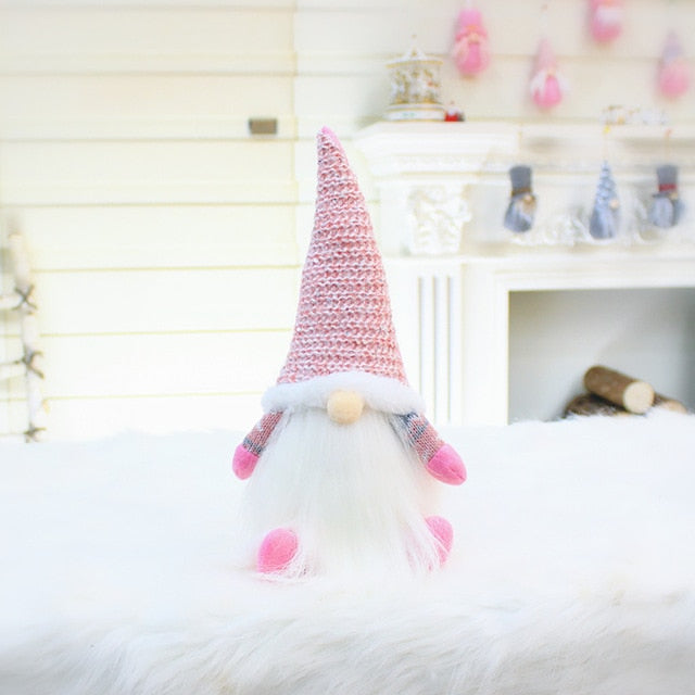 Pinky Gray Gnome Dolls