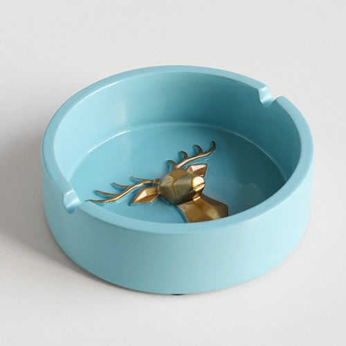 Deluxe Deer Head Ashtray