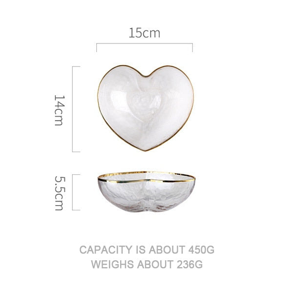 Creative Heart Shape Tableware