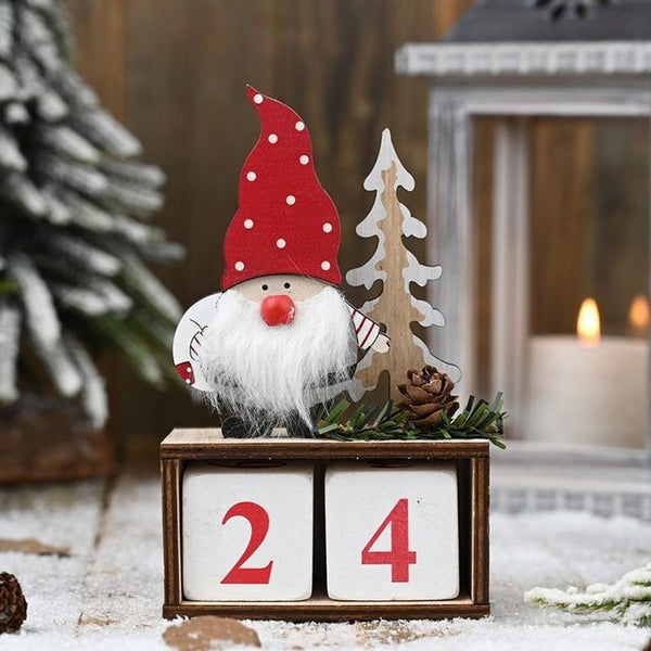 2020 Christmas DIY Wooden Calendar