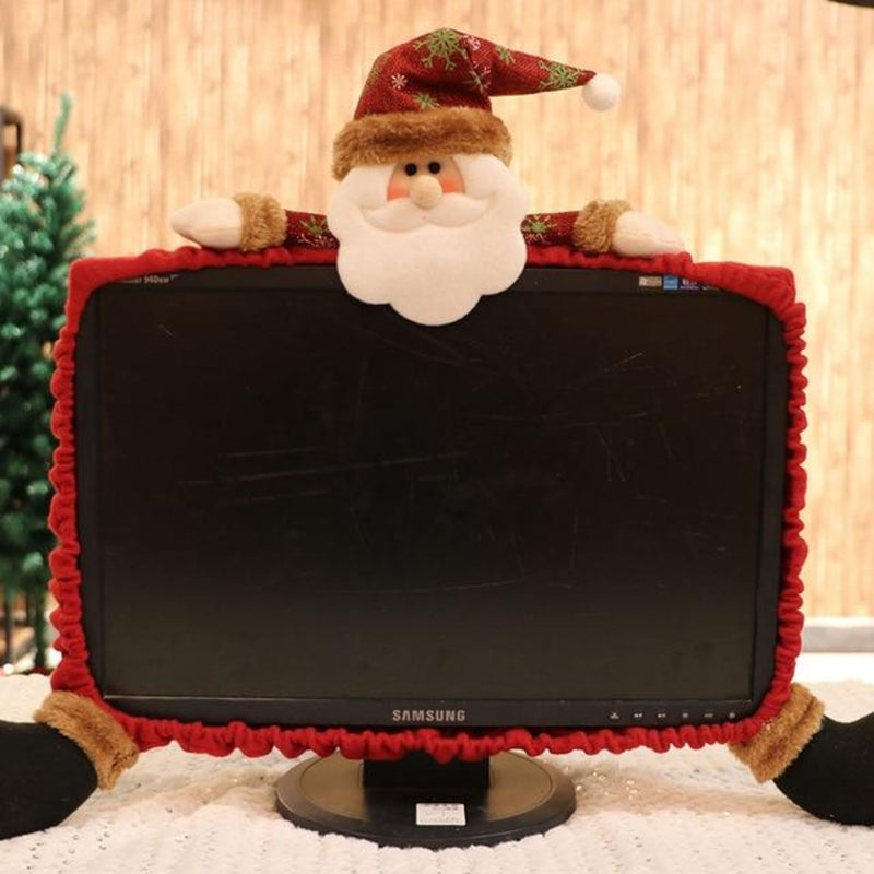 Christmas Computer Monitor Cover