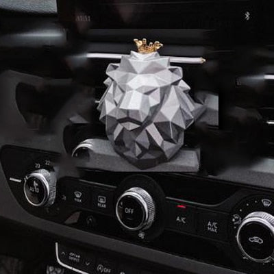 Luxury Lion Head Car Aroma