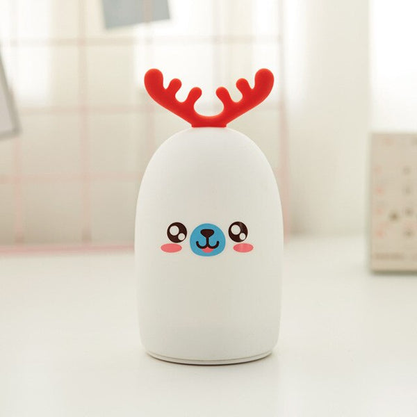 Xmas Cartoon Deer LED Night Light