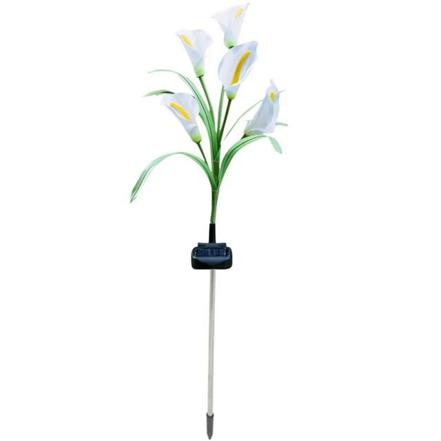 Arum Lily Solar Outdoor Lights