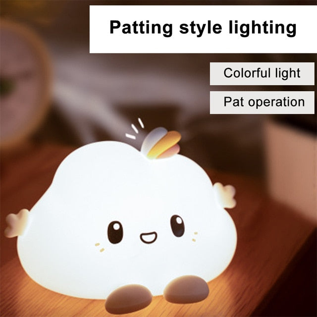 Cute Chick LED Touch Night Light