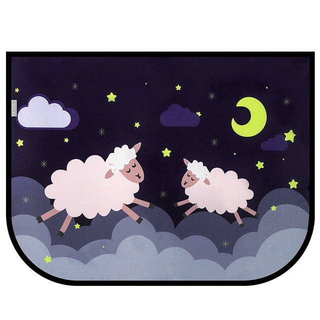 Cute Cartoon Car Window Sunshades