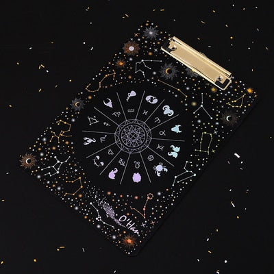 Starry Sky Constellation Clipboard
