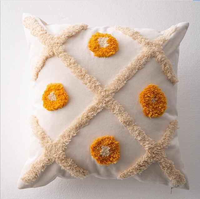 Luxury Boho Embroidery Cushion Covers