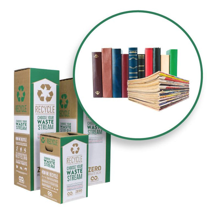 Books, Magazines, Notebooks and Jotters - Zero Waste Box™