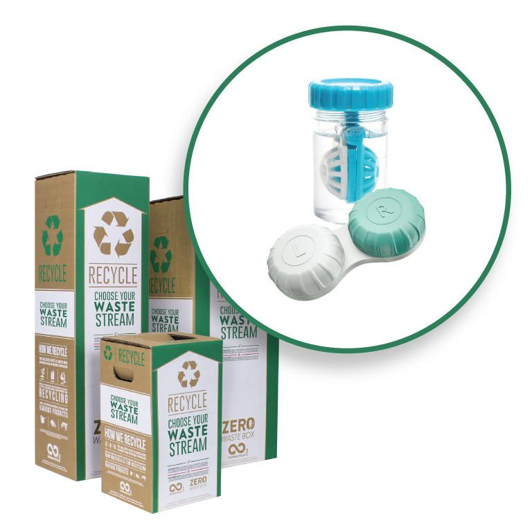 Contact Lenses and Packaging - Zero Waste Box™