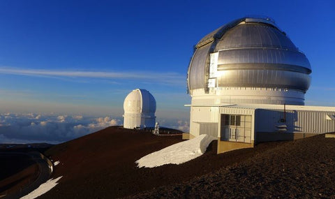 astronomisches teleskop in Hawaii