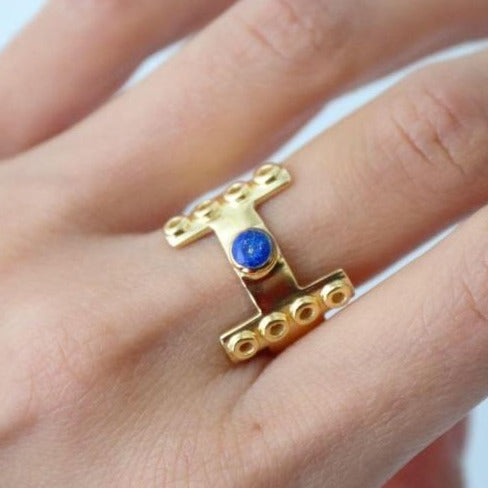 LapisLazuli Ring KOOMPLIMENTS