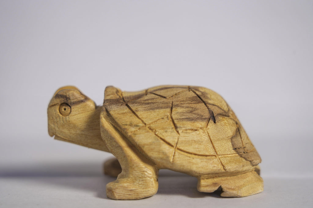Hand Carved Palo Santo Tortuga Totems