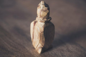 Hand Carved Palo Santo Condor Totems
