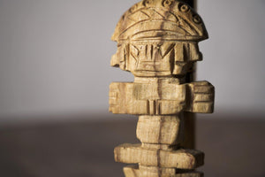 Enu Palo Santo Hand Carved Tumi Totem - Made in Peru - Spirit Animal Incense - Artisan Crafted