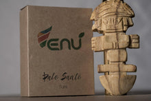 Load image into Gallery viewer, Enu Palo Santo Hand Carved Tumi Totem - Made in Peru - Spirit Animal Incense - Artisan Crafted