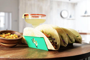 Biodegradable Quality - Colorful Taco Holder With Custom Hollow Design - Taco Stand - Taco Tuesday