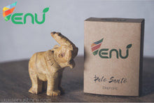 Load image into Gallery viewer, Enu Palo Santo Hand Carved Elephant Totem - Made in Peru - Spirit Animal Incense - Artisan Crafted