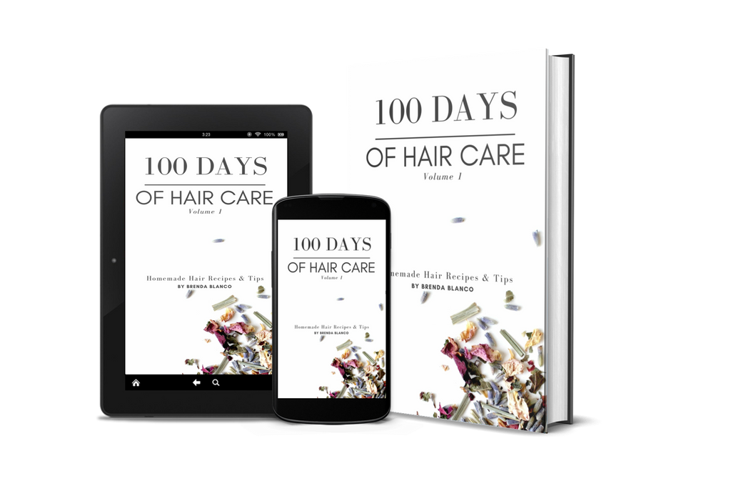 100 Days of Hair Care by Brenda Blanco | DIY recipes and tips for healthy, glorious hair - Enu Store