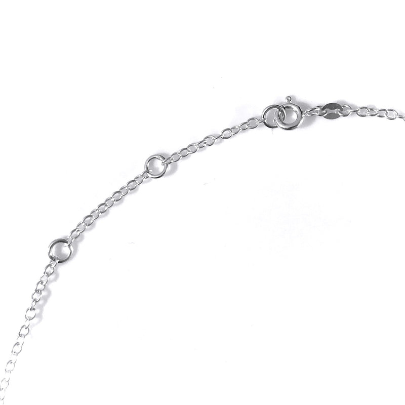 "Adjustable Sterling Silver 2.3mm Chain Necklace 16"" 17"" 18"" Bolt Ring Clasp"