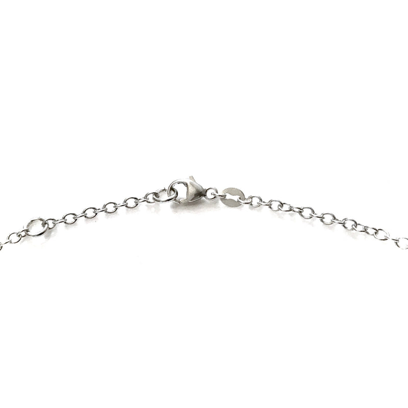 "Adjustable Sterling Silver 2.3mm Chain Necklace 16"" 17"" 18"" Carabiner Clasp"