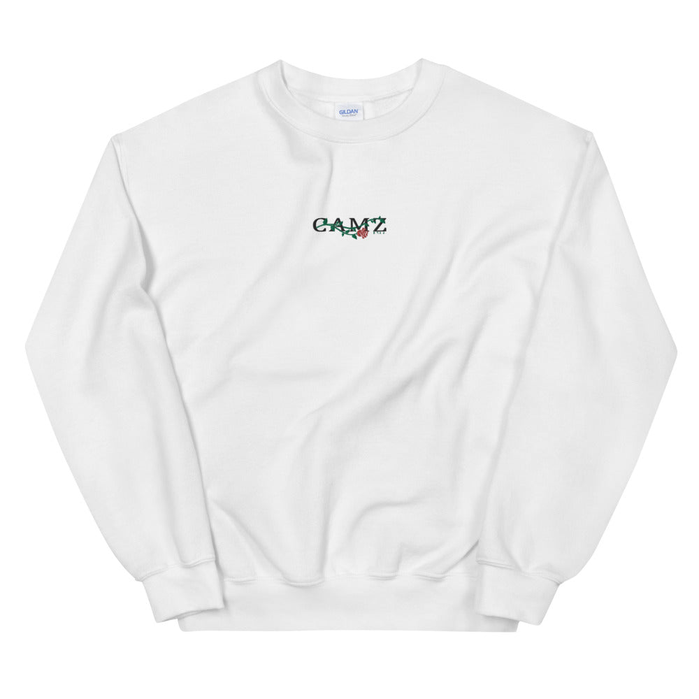 "Camz Crewneck Embroidery ""White"""