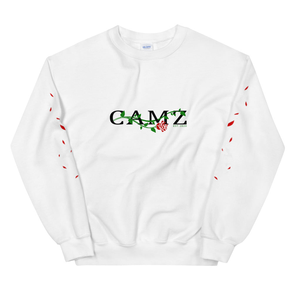 Camz Crewneck With Pedals Sleeves - Digital Print