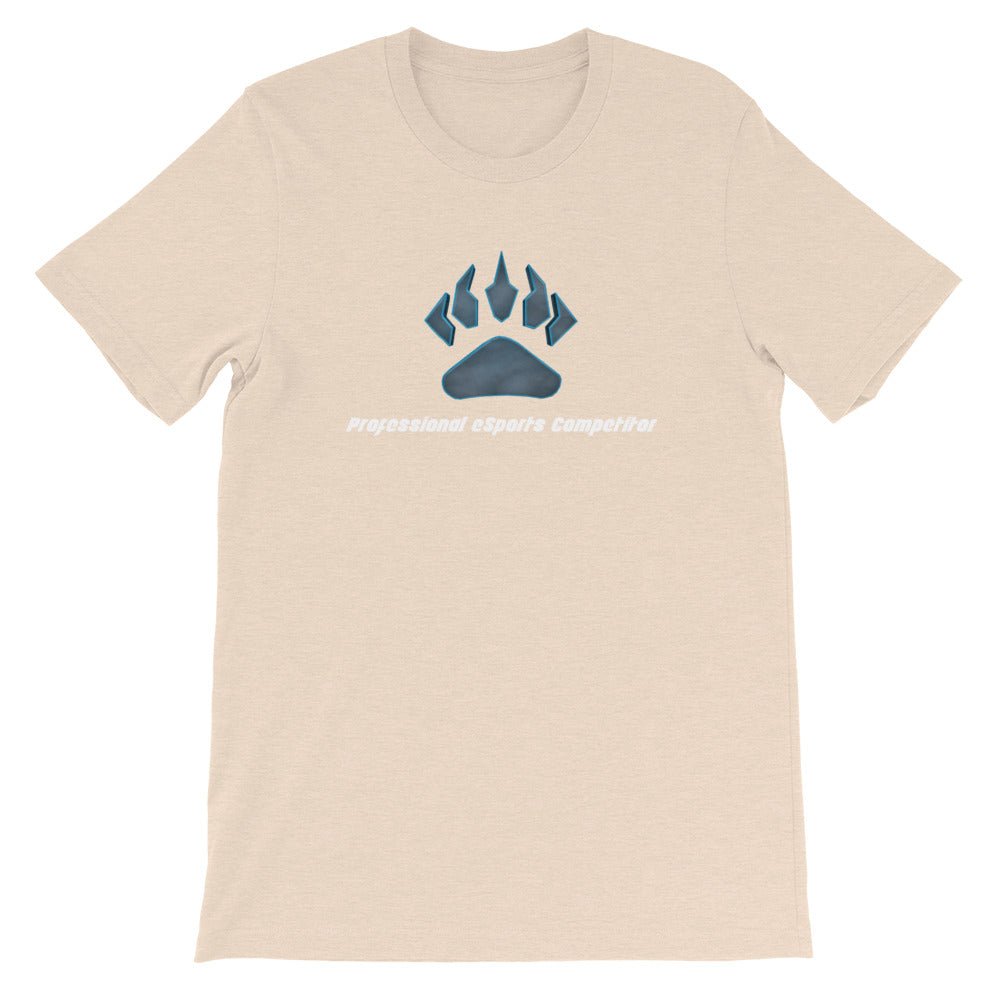 Claw Logo + White Text Short-Sleeve T-Shirt